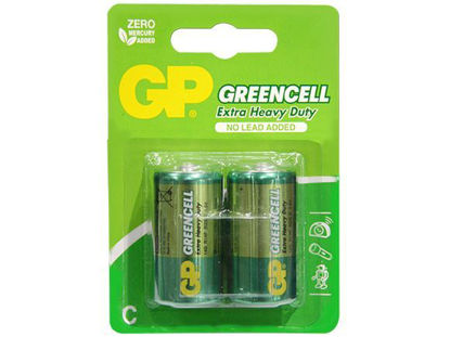 Picture of GP Batteries Greencell - C 2 pcs.