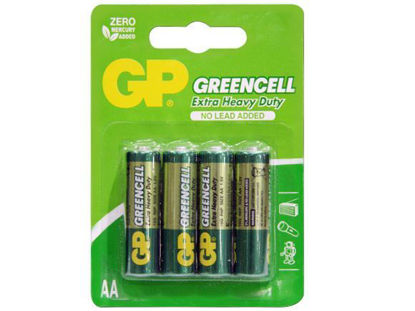 Picture of GP Batteries Greencell - AA 4 pcs.