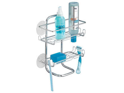 Picture of Interdesign Classico Series - Suction Shower Shelves Caddy