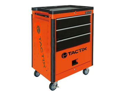 Picture of Tactix 3 Drawer Wide Roll Away Cabinet