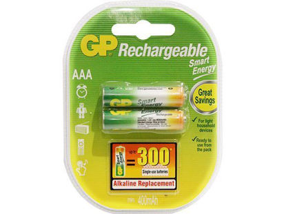 Picture of GP Batteries Smart Energy Rechargeable - AAA 2 pcs.