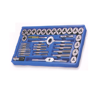 Picture of S-Ks Tools USA 40 Pcs. Tap & Die Set - Metric Combination of NC & NF, TD40PM