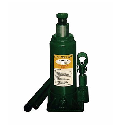 Picture of S-Ks Tools USA JM-1008SH 8 Tons Hydraulic Bottle Jack (Green)
