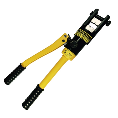 Picture of S-Ks Tools USA JMYQK-240A 12 Tons Hydraulic Crimping Plier Cable Crimper