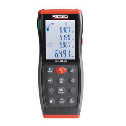 Picture of Ridgid micro LM-400 Advanced Laser Distance Meter