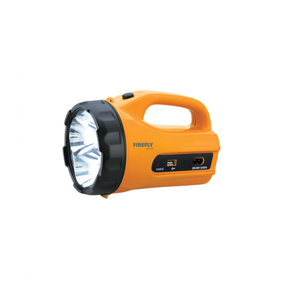 Picture of Firefly 3 LED Powerful Torch Light with USB Mobile Phone Charger FEL557