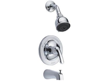 Picture of Delta In-wall Tub & Shower, W/1F Showerhead 20686-PL
