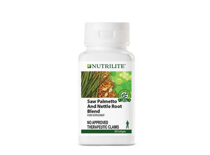 Picture of Nutrilite Saw Palmetto And Nettle Root Blend Softgel Capsule
