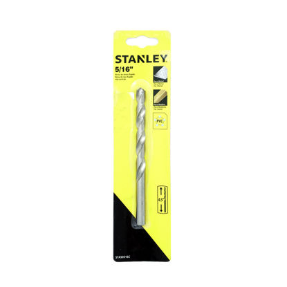 Picture of STANLEY DRILL BIT  HSS F/METAL/WOOD 3/8 X 5