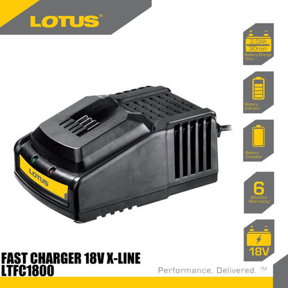 Picture of Lotus Fast Charger 18V X-LINE LTFC1800