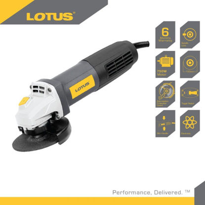 "Picture of Lotus Angle Grinder 4"" Toggle  750W LTSG7500T"