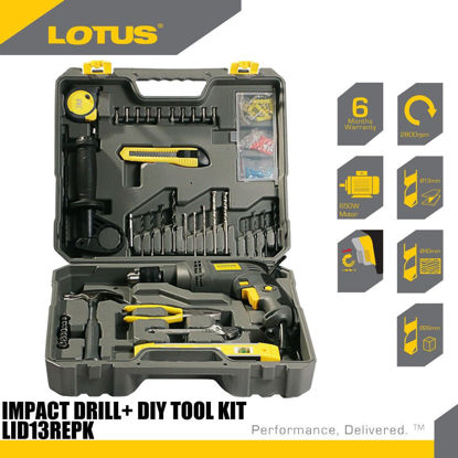 Picture of Lotus  Impact Drill  Tool Kit LTHD650XL