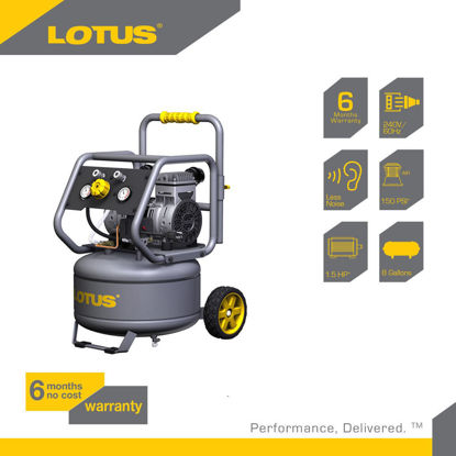 Picture of Lotus Air Compressor 8G 1.5HP LTVC3000S