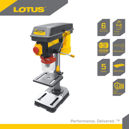 Picture of Lotus Drill Press 16MM 3/4HP/550W LTDP550