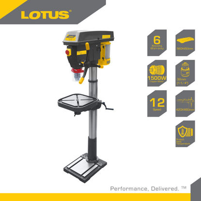 Picture of Lotus Drill Press 32MM 2HP/1500W LTDP1500