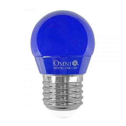 Picture of LED Colored Round Bulb 1.5W