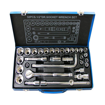 Picture of 32-Piece Socket Set K0108
