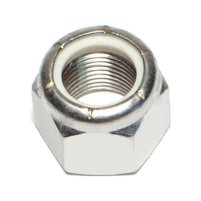 Picture of 304 Stainless Steel Lock Nut ,Nylon Insert Nuts,Metric Size