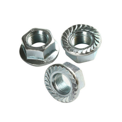 Picture of 10Pcs Flange Nut - Metric