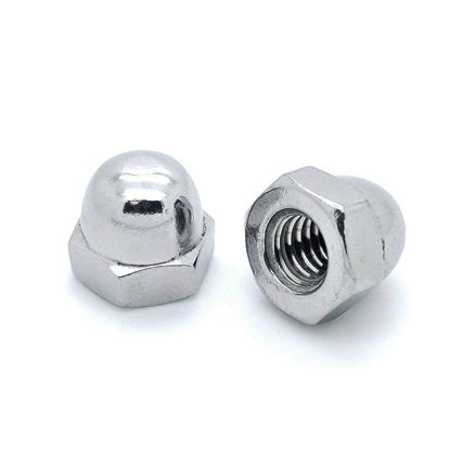 Picture of 10 Pcs Cap Nut, G.I. Cap Nut