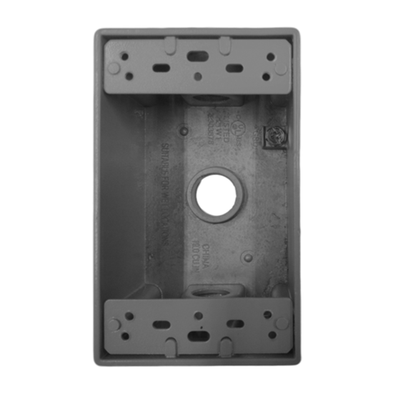 Picture of 1 Gang Rectangular WP Box 1G50-3