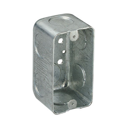 "Picture of Utility Box 2-1/8"" x 2-1/8"" Deep With Grounding Terminal 58371-1/2"