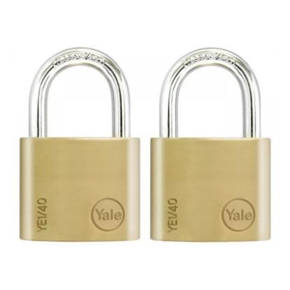 Picture of Key Alike 2 Pieces Brass Padlocks YE1/40/122/2