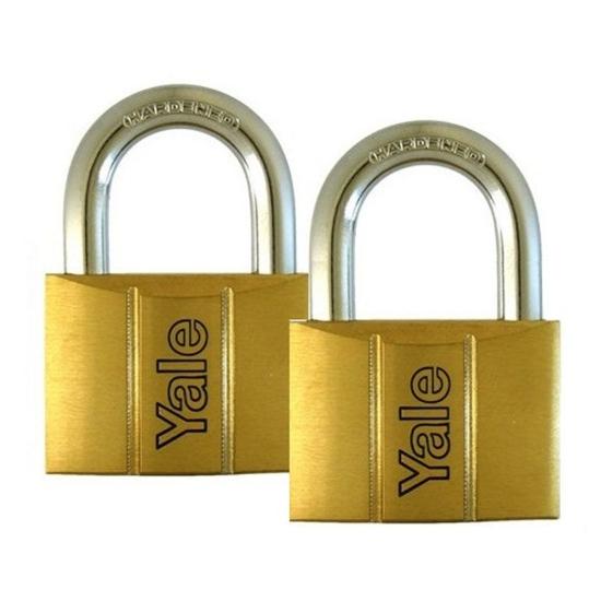 Picture of Brass Padlocks Key Alike 2 Pieces, Multi-Pack V140.60.KA2