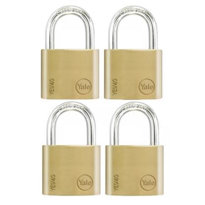 Picture of Key Alike 4 Pieces Brass Padlocks YE1/40/122/4