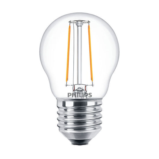 Picture of LED CLASSIC P45 E27 WW CL ND APR- Non-Dimmable
