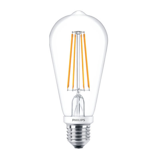 Picture of LED Classic ST64 E27 WW CL D APR- Dimmable