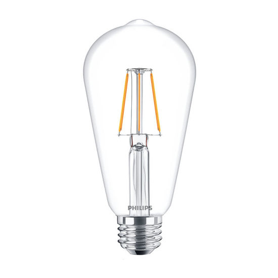 Picture of LED CLASSIC ST64 E27 WW CL ND APR- Non-Dimmable