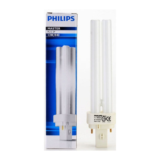Picture of Philips Compact Flourescent Lamp- Non Integrated (CFLni) 13W