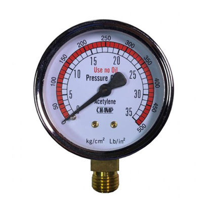 Picture of Harris Acetylene Gauge 35 PSI, 686