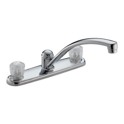 Picture of Delta Kitchen Faucet Classic 2 Knob handle -DT2102
